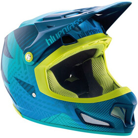 bluegrass Brave Fullface Helm blue/green